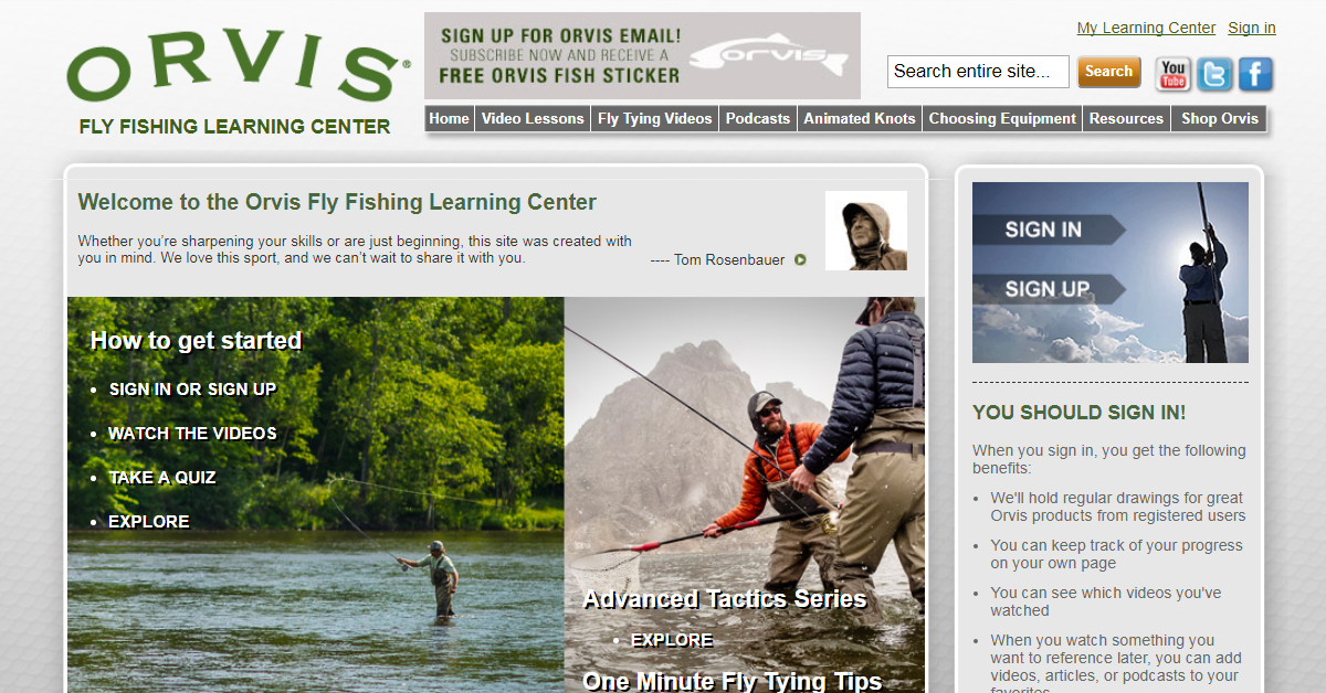 Streamside the orvis fly fishing learning center online for Learning to fly fish