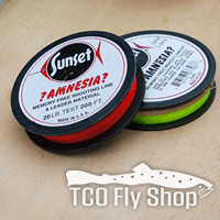 Amnesia in all diameters at TCO Fly Shop