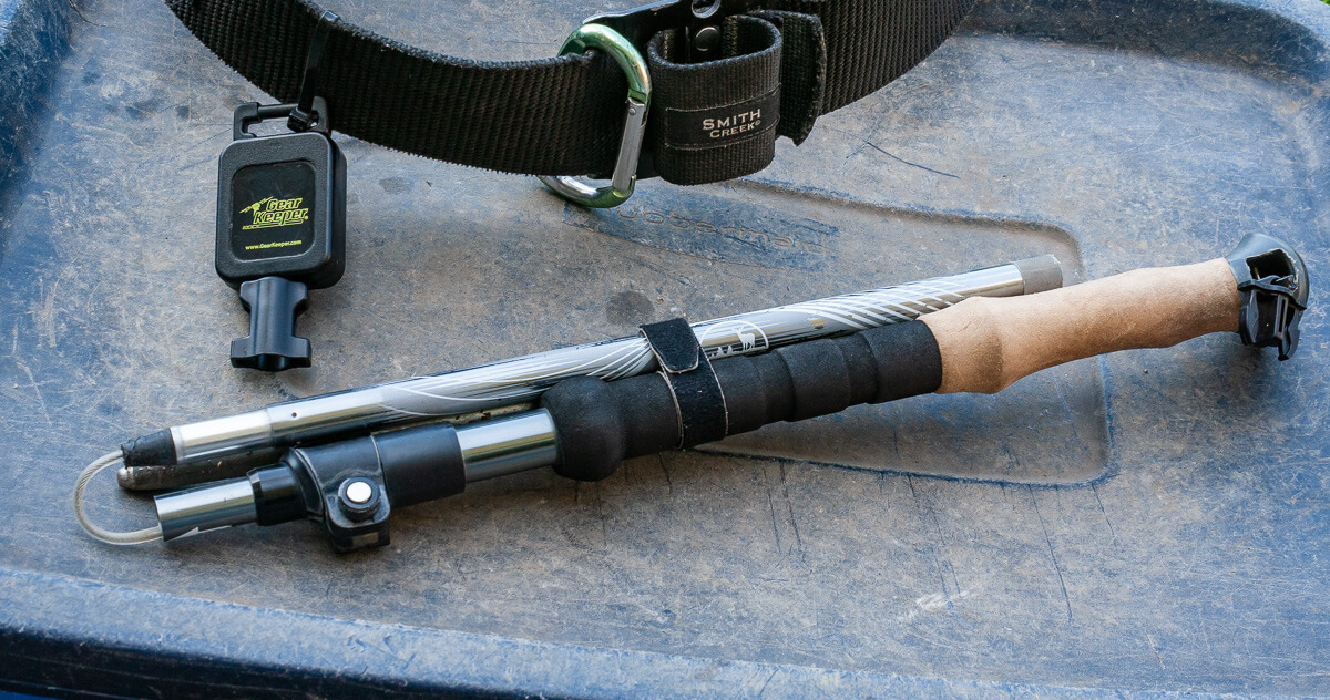 Folstaff Wading Staff  Rubber Tip 3//4in Diam GREAT NEW